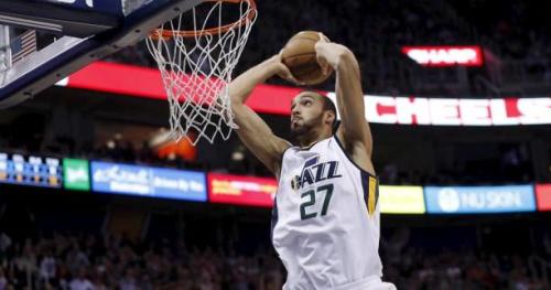Basket - NBA - Rudy Gobert (Utah Jazz) signe un double-double face aux Sydney Kings