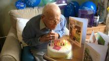 War hero celebrates 107th birthday without his family due to coronavirus lockdown