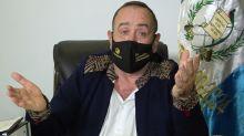 "Presidente de Guatemala, contagiado de coronavirus, admite ser paciente ""de alto riesgo"""