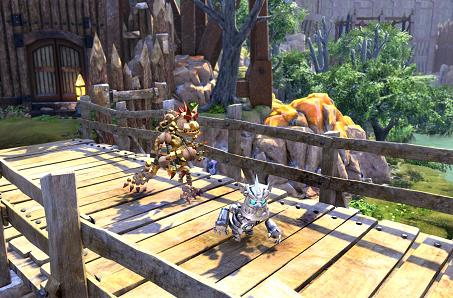 Here's how Knack's two-player co-op works