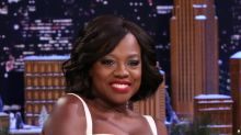 Viola Davis's Sexy Skin Steals the Spotlight on the 'Tonight Show'