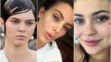 Así son las chicas del clan Kardashian-Jenner sin maquillaje