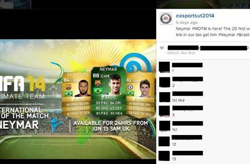 Watch out: fake EA social accounts are swiping World Cup fans' logins