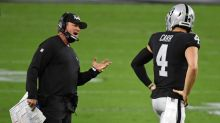 Jon Gruden says he previously had COVID-19, is doing his best to wear a mask