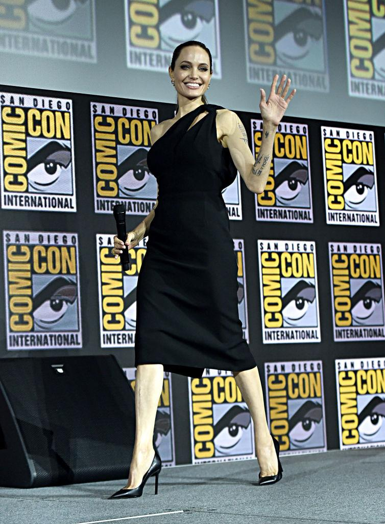 aad22e5f351 Comic-Con 2019: Angelina Jolie, Natalie Portman and Scarlett Johansson lead  celebrity fashion