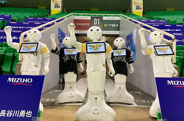 Spot and Pepper robots will perform at spectatorless baseball games in Japan