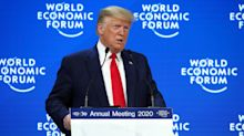 Trump tells Davos: 'The time for skepticism is over' as impeachment begins