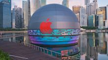 Apple unveils 3rd Singapore outlet at Marina Bay Sands, the first in the world to sit on water