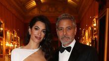 Amal Clooney como una estrella de cine