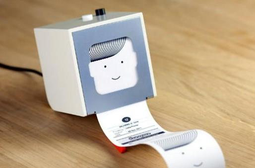 Berg's Little Printer churns out RSS feeds with a receipt and a smile