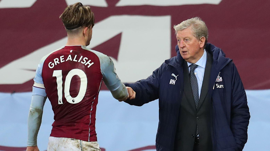 Roy Hodgson backs Jack Grealish for Euro 2020 call ahead of Palace-Villa clash