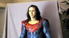 See Nicolas Cage as Superman in Rare Test Footage for 'Superman Lives'