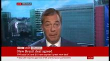 Nigel Farage would rather have an extension and a general election