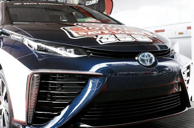 Toyota bets on hydrogen with the FCV Mirai