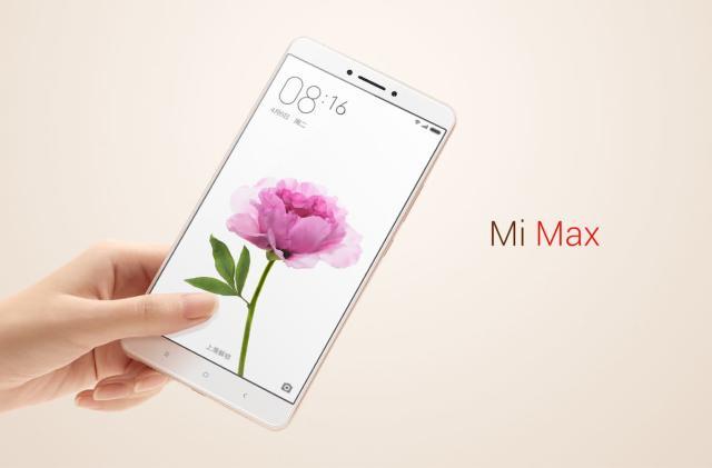 Xiaomi's Mi Max phone has a huge display and a big battery