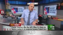 Cramer: The action in Apple's stock is a lesson on buying...