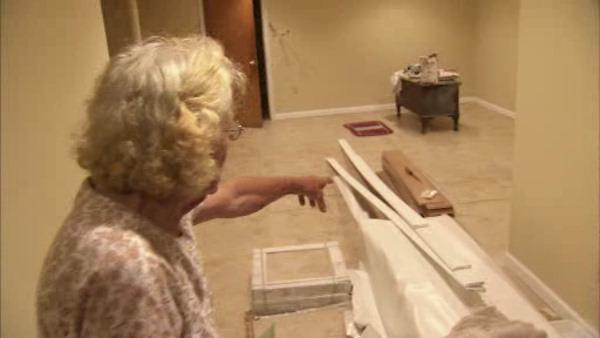 Community helps 91-year-old woman after remodeling nightmare
