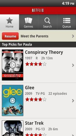 Netflix app on Android updated to work on 24 models including Galaxy S, Droid 3 (update: tablets too!)