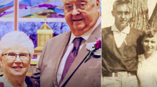Great-grandmother weds partner 64 years after breaking off engagement