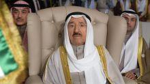El emir de Kuwait busca tratamiento médico en EEUU