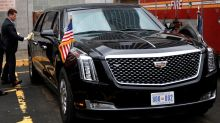 New GM-built 'Beast' presidential limo makes Trump debut