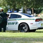 Florida mom shot at her slain son's funeral service