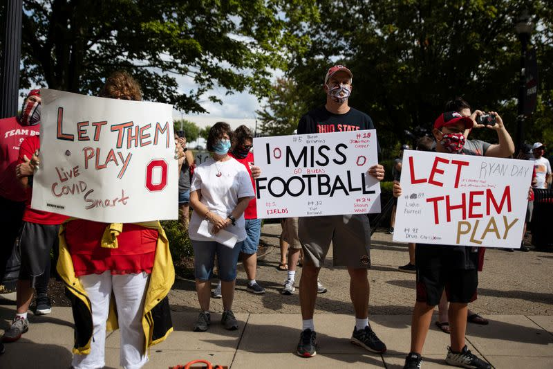 Big Ten to start its college football season next month