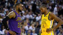 NBA/杜蘭特也有禿頭危機?網友毒舌:他在模仿詹皇