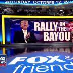 President Trump rallies voters in Louisiana