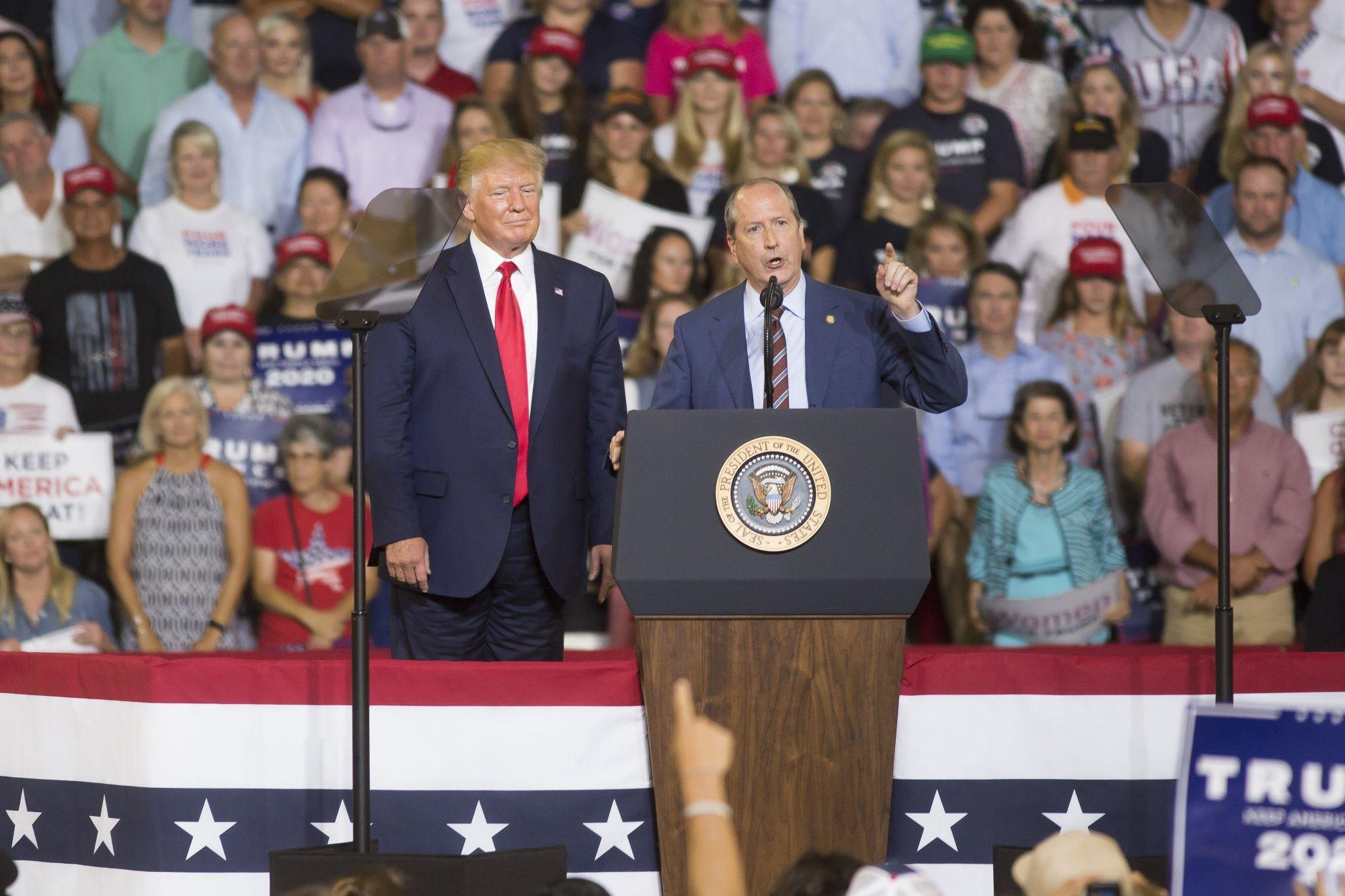 Trump Assails North Carolina Democrat: Campaign Update