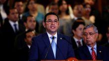 Jimmy Morales admite una reunión con candidato presidencial preso en EE.UU.
