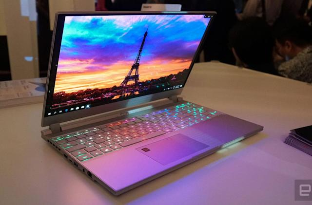 Gigabyte's Aero 15 OLED laptop is made for video editors (updated)