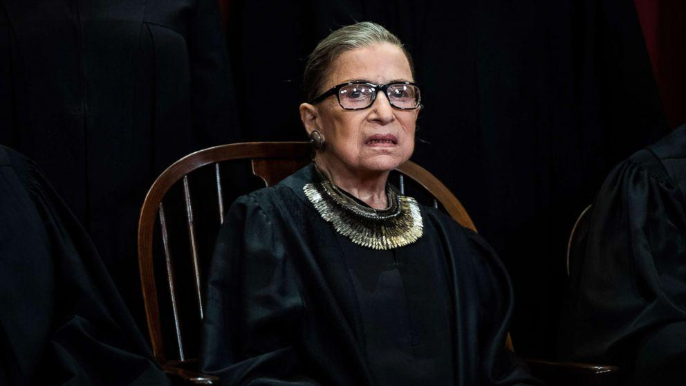 Ginsburg treated for tumor on pancreas