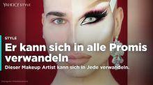 Dieser Make-up Artist kann sich in jeden Promi verwandeln