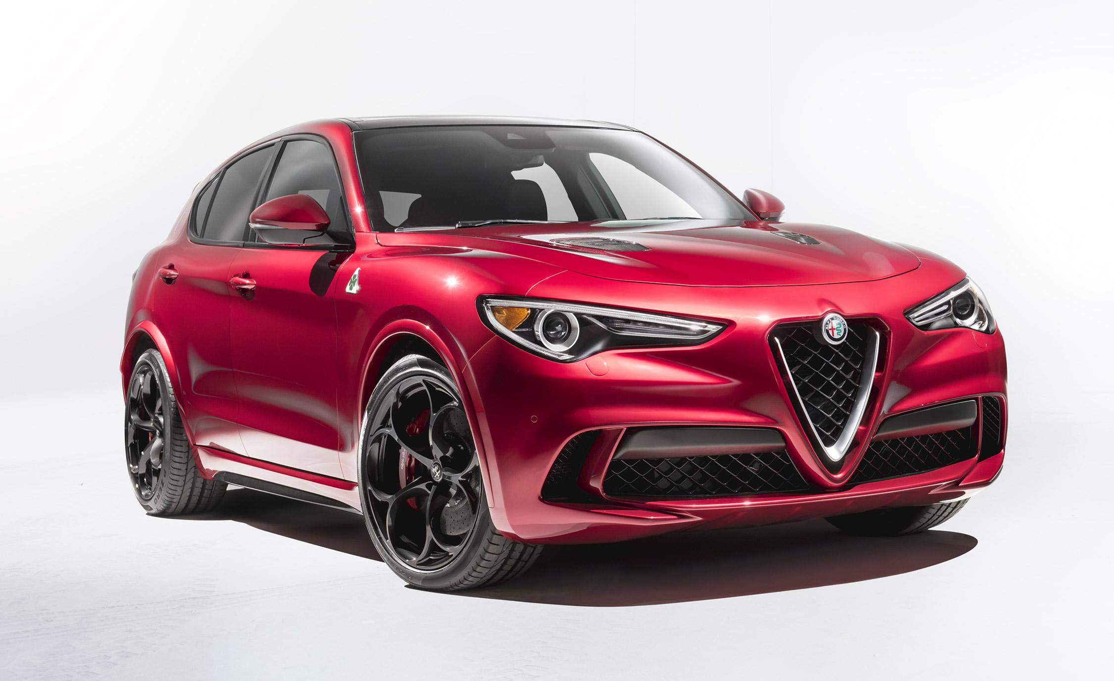 2018 alfa romeo stelvio we 39 ll take the 505 hp version please. Black Bedroom Furniture Sets. Home Design Ideas