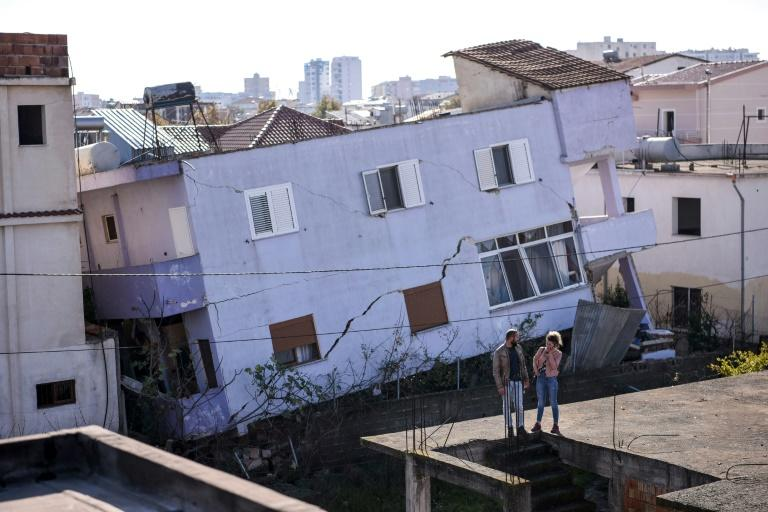 The damage was most concentrated near the Adriatic coast in the port city of Durres and the town of Thumane (AFP Photo/Armend NIMANI)
