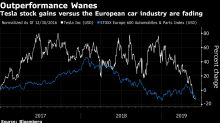 A Tesla Collapse Would Boost European Carmakers, Bernstein Says