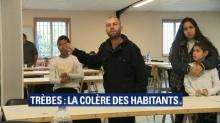 Aude: un sinistré laisse éclater sa colère devant le maire de Trèbes et le Premier ministre