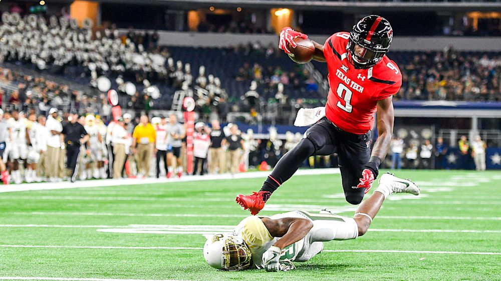 Texas Tech WR transfer Jonathan Giles names top 10 schools