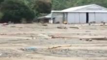 Locals Survey Damage After Deadly Flooding in Indonesia