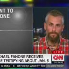 Police officer Michael Fanone receives sinister threatening call on back of explosive January 6 commission testimony