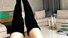韓國女藝人韓藝瑟SNS發近照秀修長筆直美腿