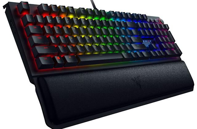 Razer's BlackWidow Elite keyboard drops to an all-time low $70 at Best Buy