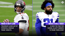 Fantasy Football Buy-Low, Sell-High Stock Watch: Tom Brady, Ezekiel Elliott among trade candidates heading into Week 8