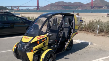 Arcimoto delivers EV for San Francisco sightseeing