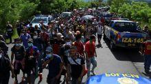 Mexico deploys military to block migrant caravan