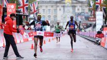 Shura Kitata wins London Marathon as Eliud Kipchoge's reign comes to shock end