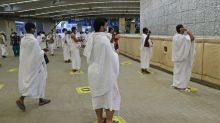 Pilgrims stone Satan in last major rite of scaled-back hajj