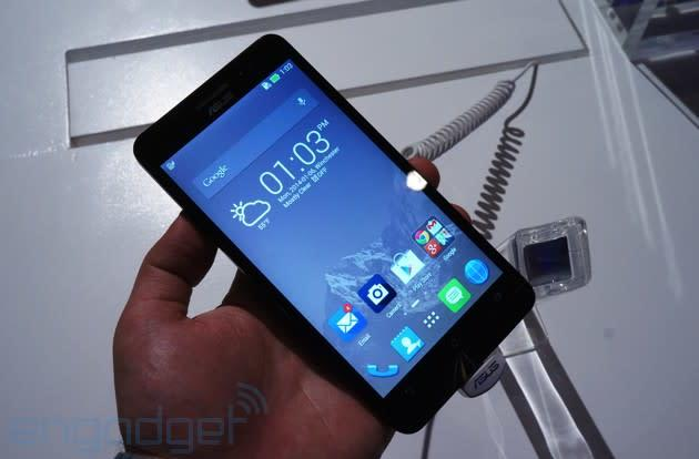 Here's a closer look at ASUS' low-cost Zenfone line