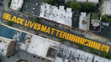 Trump tweets about plan for Black Lives Matter mural in front of his tower